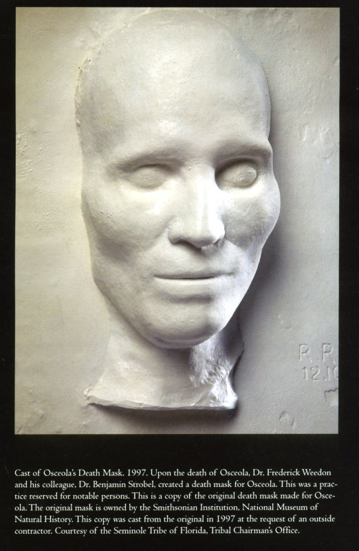 Osceola's Death Mask
