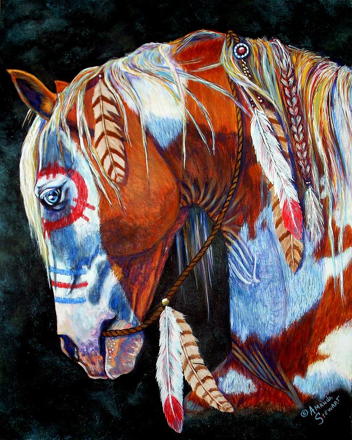 Selected Equine Art. NA Horses