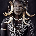 Mursi tribe OMO VALLEY -  photo by Jimmy Nelson