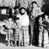 Group portrait of Seminole family