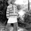 Mr Bowlegs III and a huge turban (Seminole)