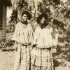 Portrait of two young Seminole women1939