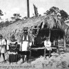 Seminole camp on New River - Fort Lauderdale, Florida