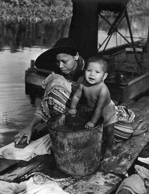 Seminole mother and child, January 5, 1947