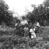 Seminole woman and children in South Florida