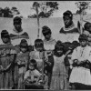Seminole women and children, hookworm victims - Florida