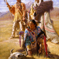 Native Americans in ART. Chapter II. Fine Art
