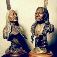 Native Americans in ART. Chapter IV. Sculpture