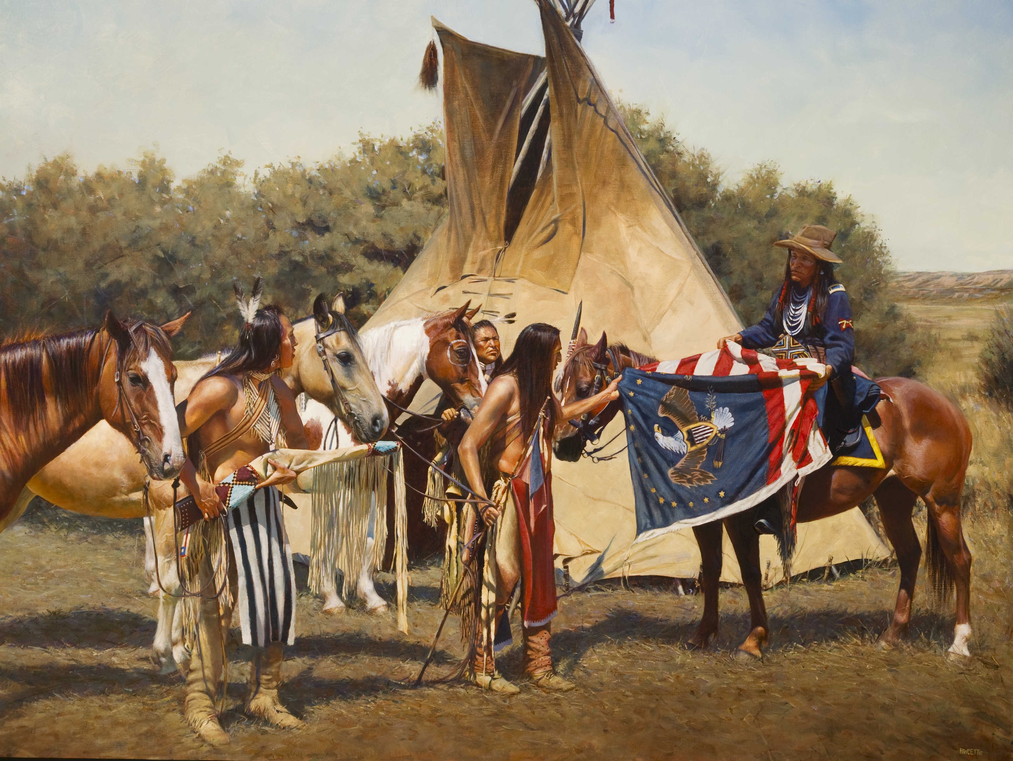 Indian Chief Dance at Crazy Horse Monument 1 of 2